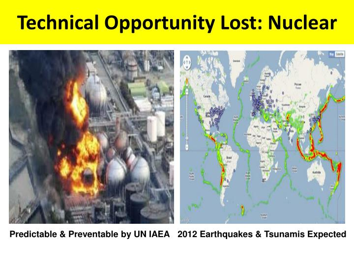 Technical Opportunity Lost: Nuclear