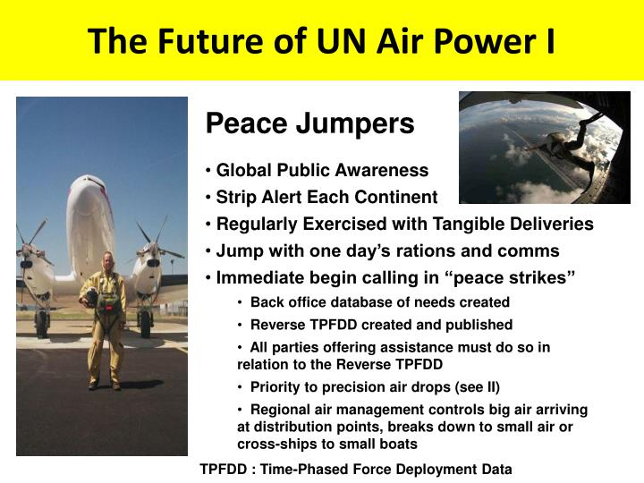 The Future of UN Air Power I