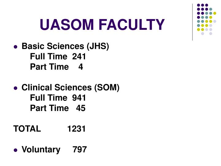 UASOM FACULTY