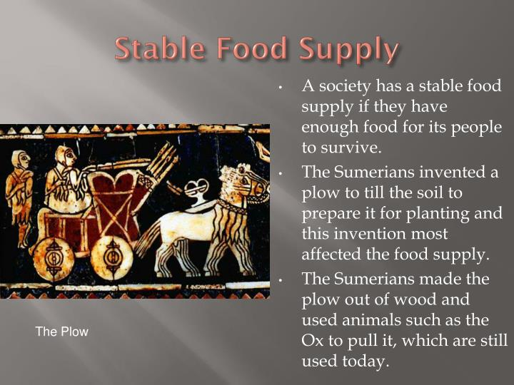Stable Food Supply