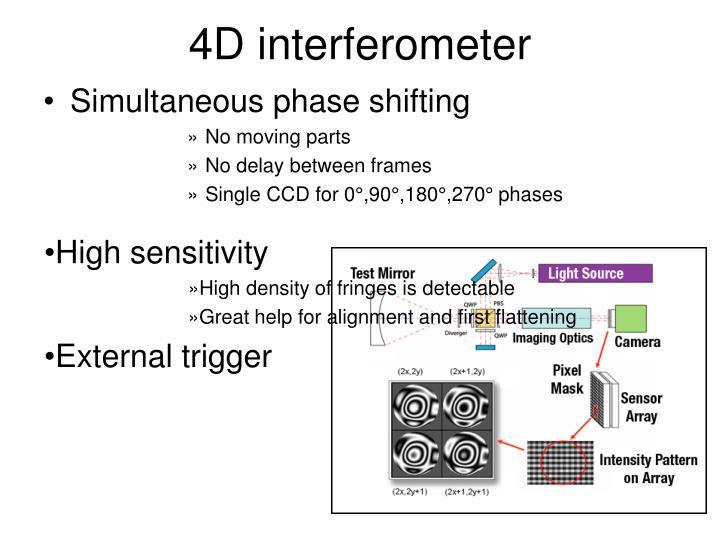 4D interferometer