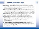 cele eib na lata 2008 2009
