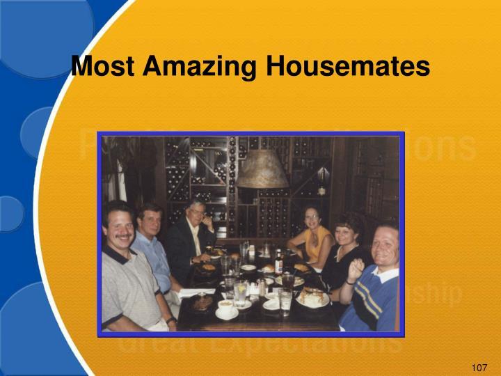 Most Amazing Housemates