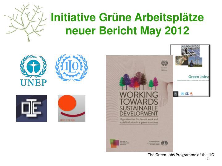 Initiative Grüne Arbeitsplätze