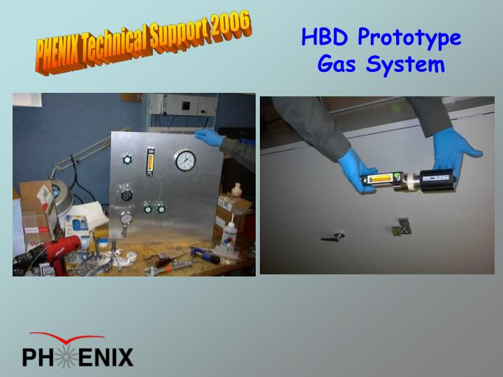 HBD Prototype Gas System