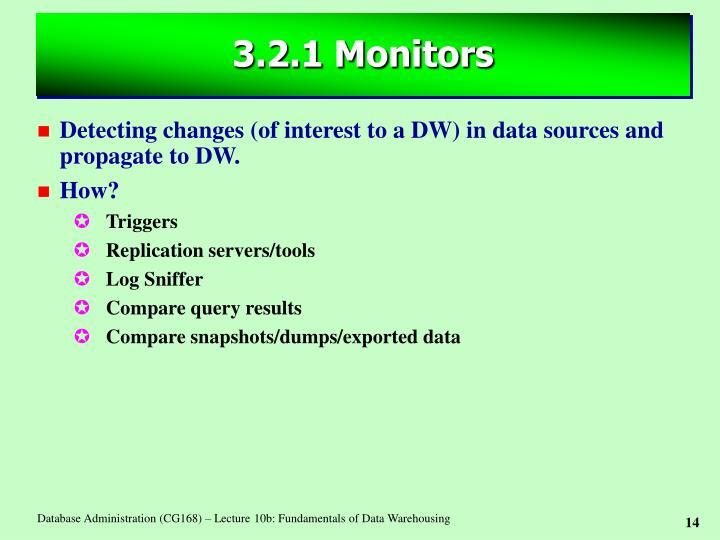 3.2.1 Monitors