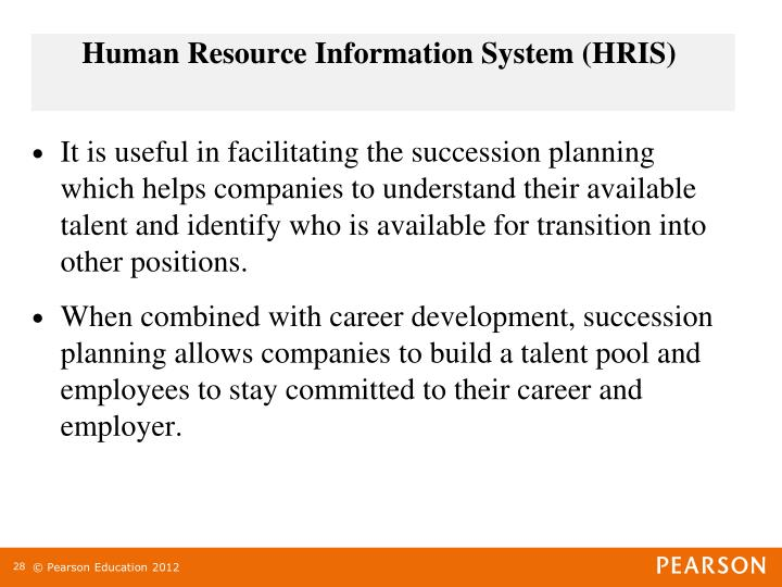 Human Resource Information System (HRIS)