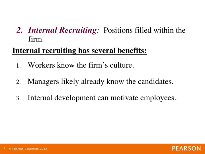 Internal Recruiting