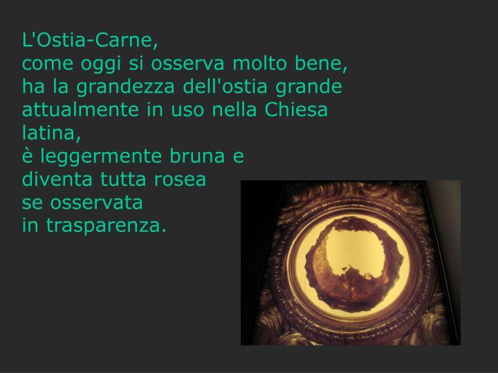 L'Ostia-Carne,