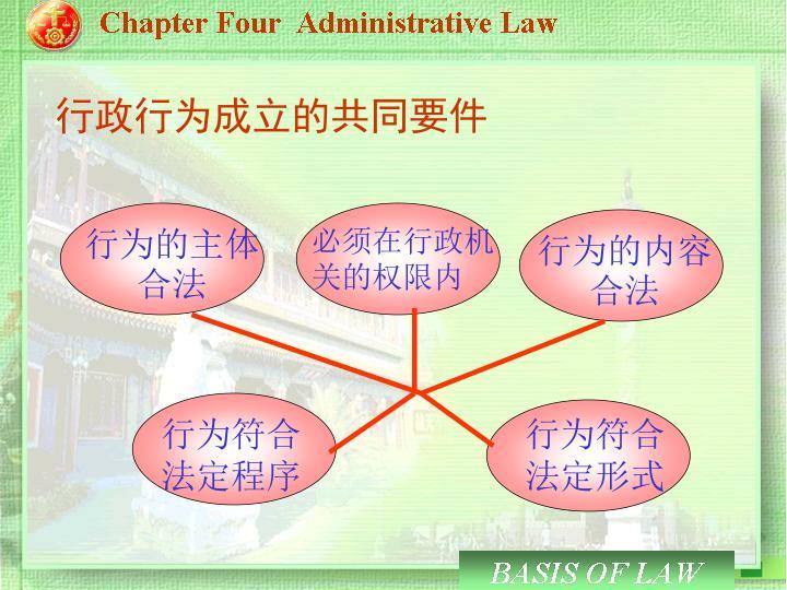 行为的主体  合法
