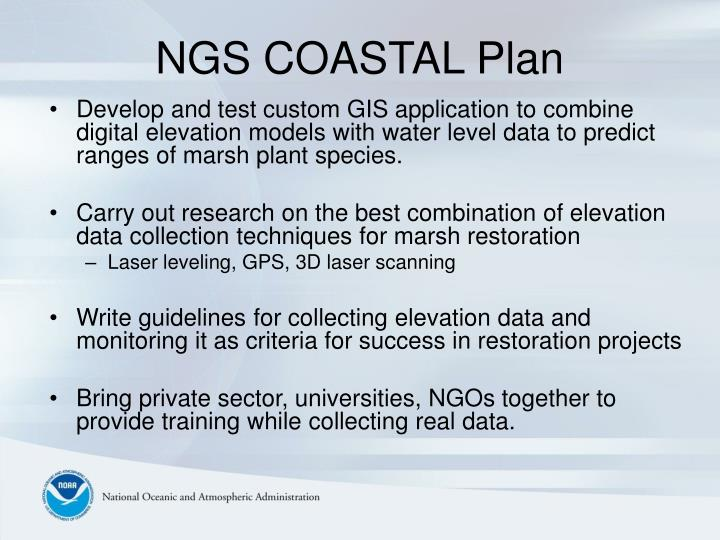 NGS COASTAL Plan