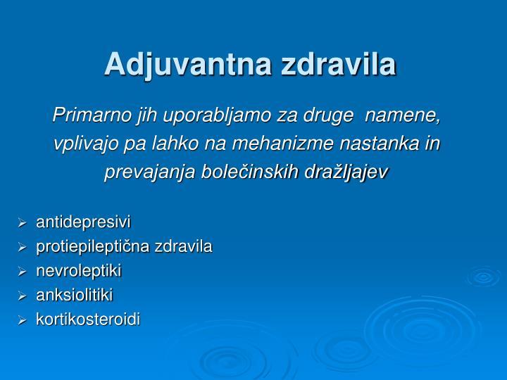 Adjuvantna