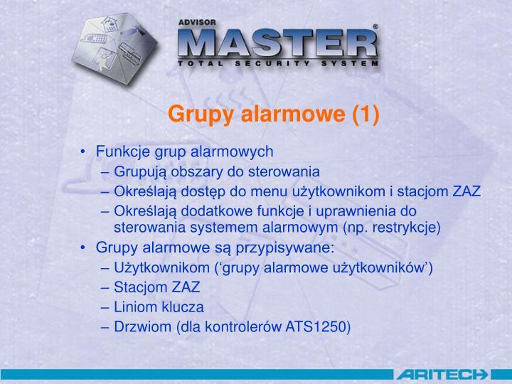 Grupy alarmowe (1)