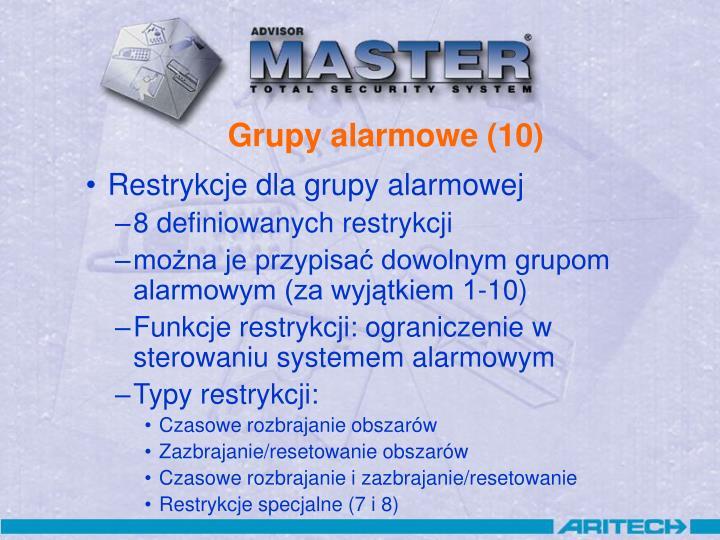 Grupy alarmowe (10)