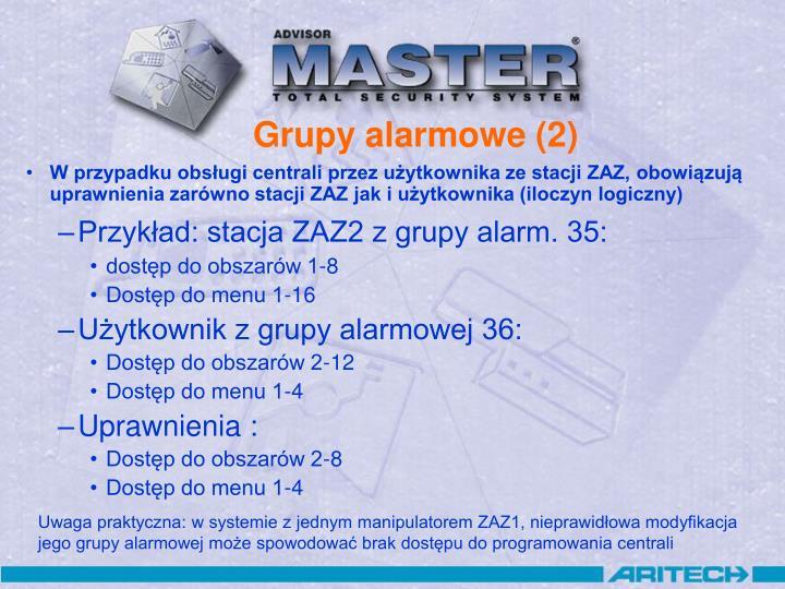 Grupy alarmowe (2)