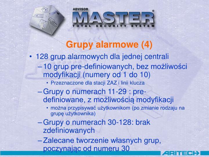 Grupy alarmowe (4)