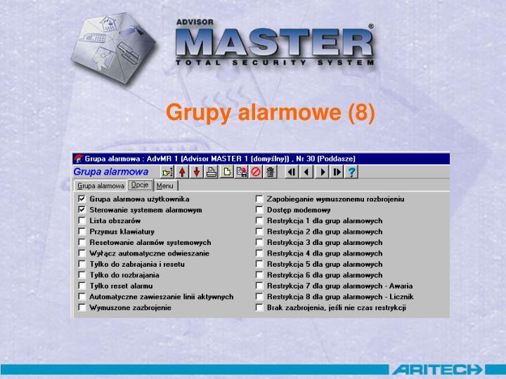 Grupy alarmowe (8)