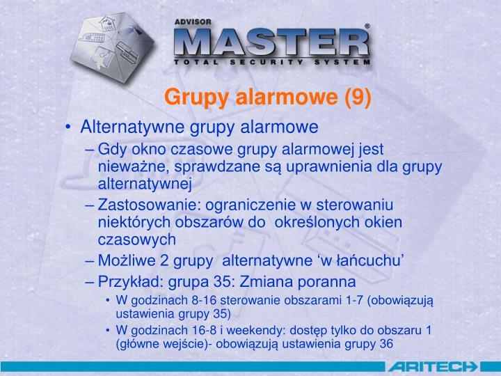 Grupy alarmowe (9)