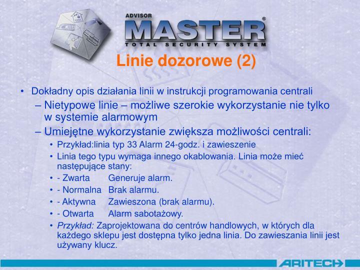 Linie dozorowe (2)