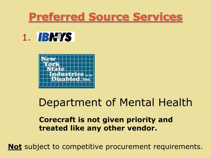 Preferred Source Services