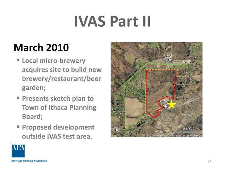 IVAS Part II
