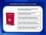 health effects of tobacco use on youth