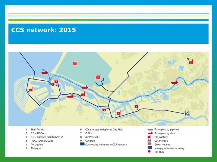 CCS network: 2015