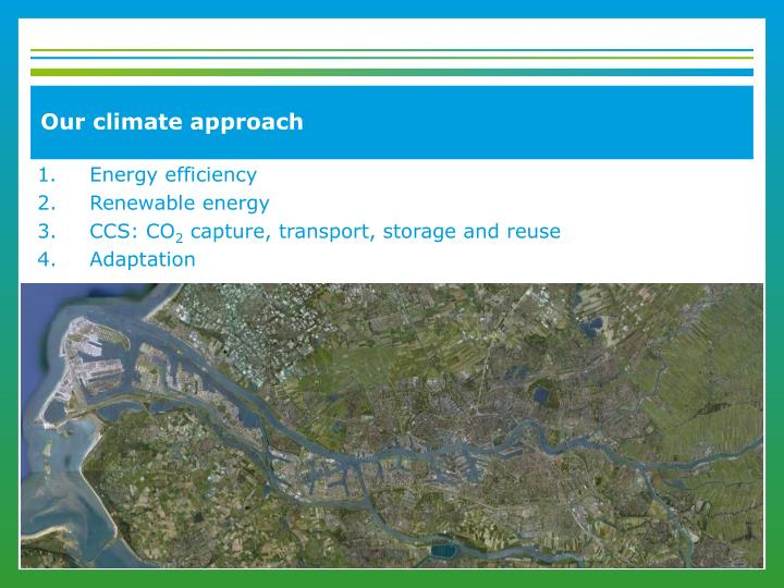 Our climate approach