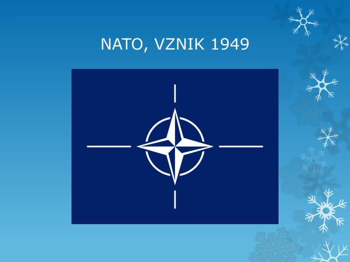 NATO, VZNIK 1949