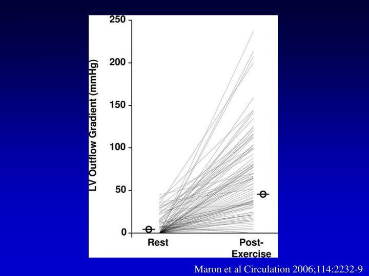 Maron et al Circulation 2006;114:2232-9