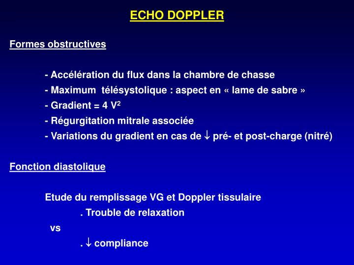 ECHO DOPPLER