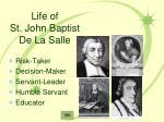 life of st john baptist de la salle1