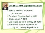 life of st john baptist de la salle2