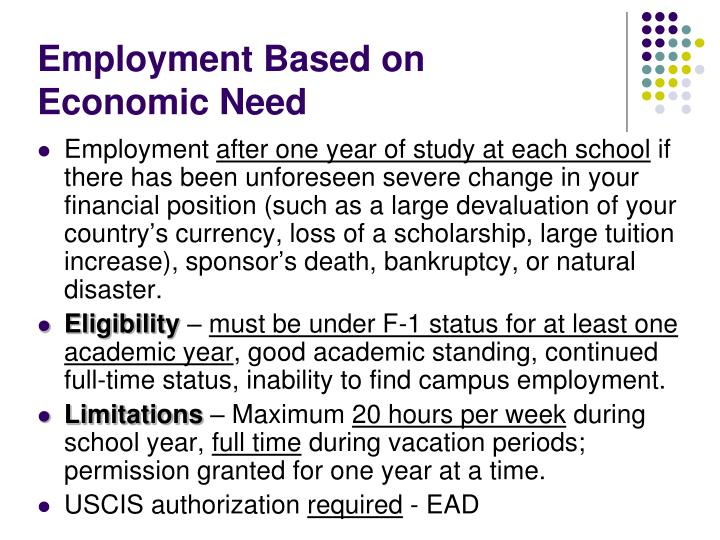 Employment Based on