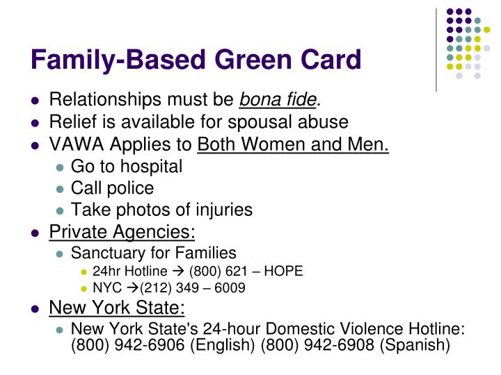 Family-Based Green Card