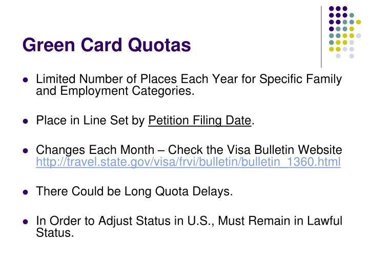 Green Card Quotas