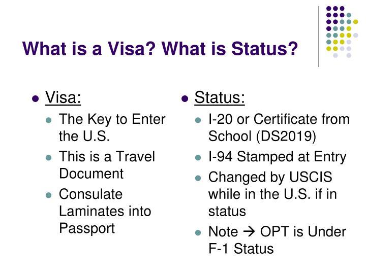 Visa: