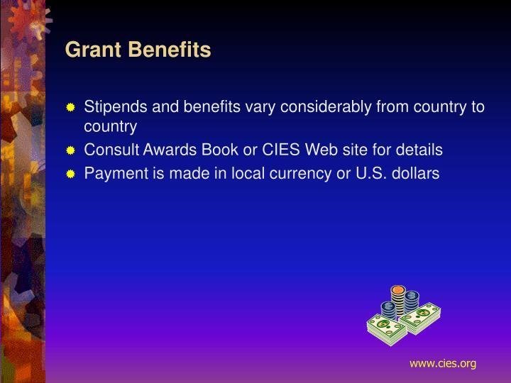 Grant Benefits