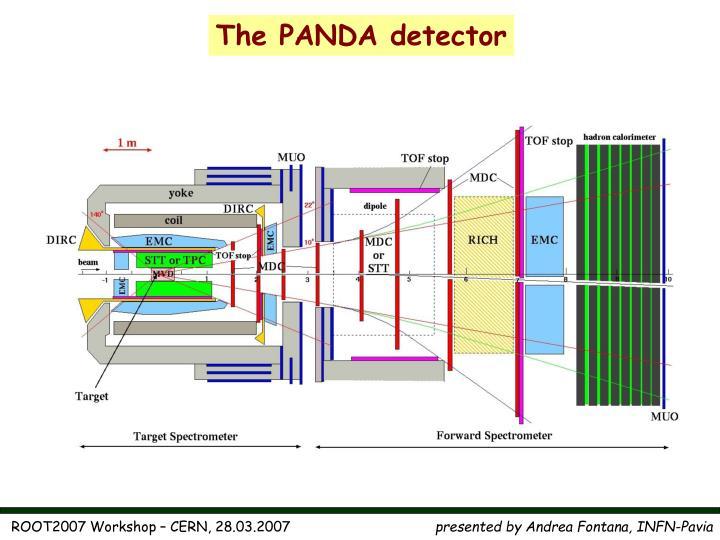 The PANDA detector