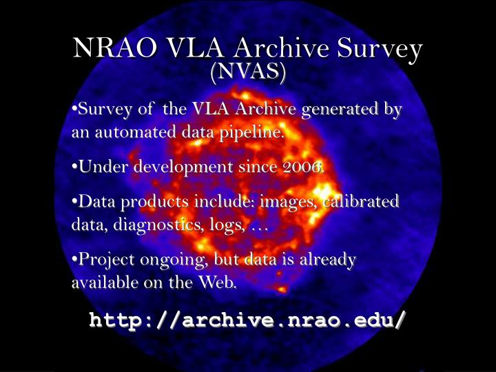 Nrao vla archive survey1