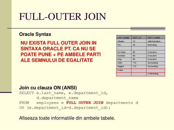 FULL-OUTER JOIN