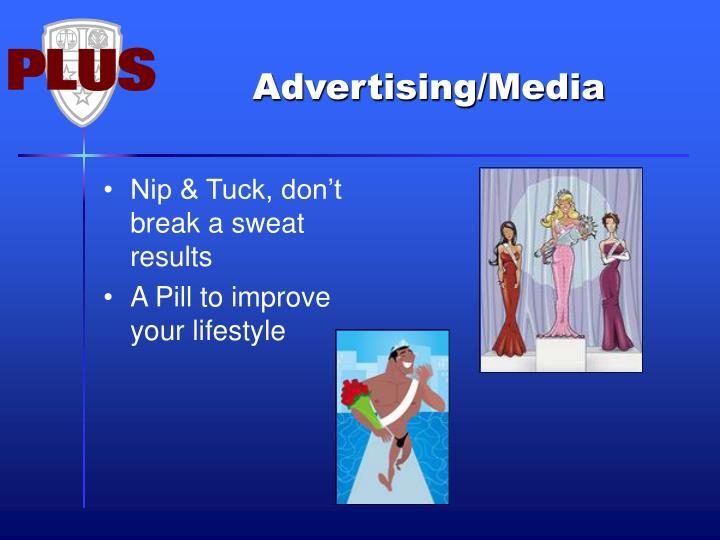 Nip & Tuck, don't break a sweat results