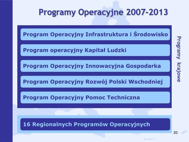 Programy Operacyjne 2007-2013
