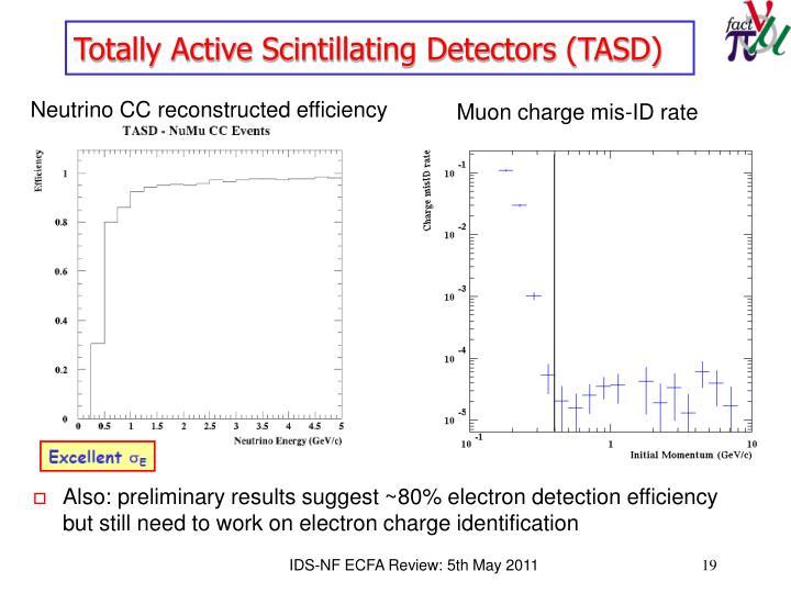 Totally Active Scintillating Detectors (TASD)