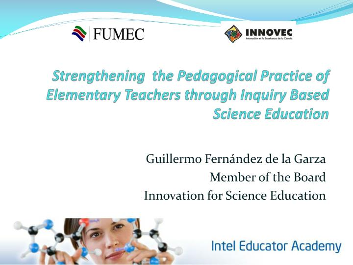 Strengthening  the Pedagogical Practice of Elementary Teachers through Inquiry Based Science Educati...