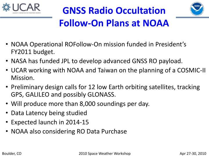 GNSS Radio Occultation
