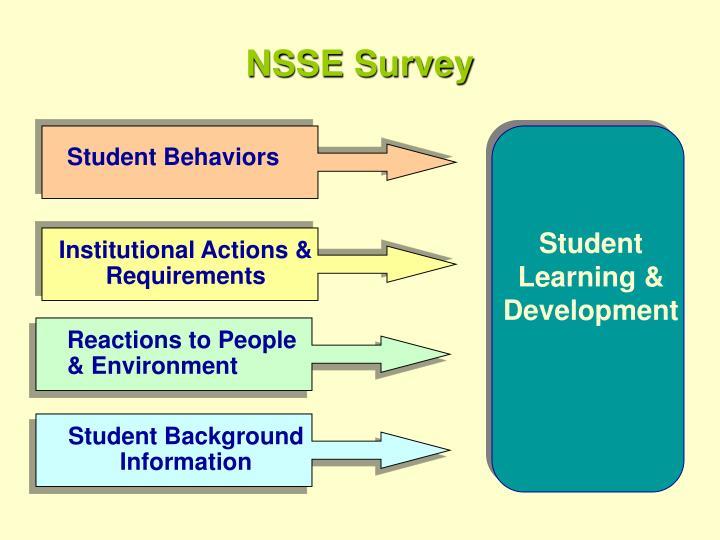NSSE Survey