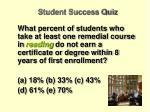 student success quiz3