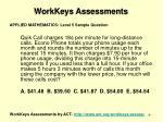 workkeys assessments