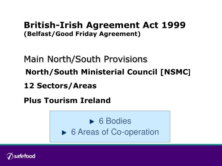 British-Irish Agreement Act 1999